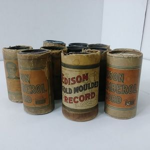 Edison Blue Amberol, Amberol,Gold Moulded Records